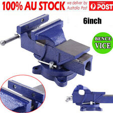 "Adjustable Quick Release 6"" Heavy Duty Engineers Bench Vice 2 Ton Semi Precision"