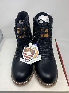 Royal Canadian // Boots Black Aldershot Men Size 10 Mountain Hiking Snow