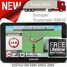 Snooper Truckmate S6810 Eu │ 17.8cm Poids Lourds Publicité Navigation GPS │ Air1