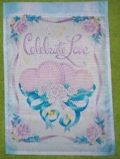 "Wedding Garden Flag by Nce #22279, 12.5"" x 18"" Love"