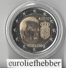 Luxemburg    2  Euro  Commemorative   2010   Het wapen van de groothertog