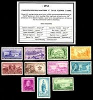 1950 COMPLETE YEAR SET OF MINT -MNH- VINTAGE U.S. POSTAGE STAMPS