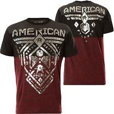 AMERICAN FIGHTER Affliction T-Shirt Fairbanks Rot/Schwarz T-Shirts