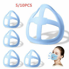 10X Washable 3D Face Mask Bracket Frame Soft Inner Support  More Breathing Space