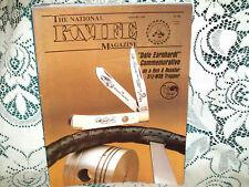 National Knife 1/1989~Case Blackhorn~Remington Bullet~Perisian Bowie~Survival