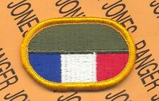 US Army SETAF Southern European Task Force Airborne para oval patch m/e