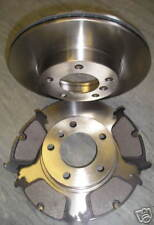 BMW (E46) 316 318 320 FRONT BRAKE DISCS AND PAD PLUS SERVICE PARTS