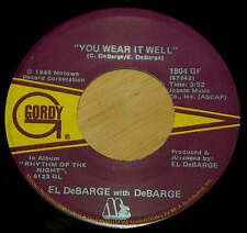 El DeBarge 45 You Wear It Well / Baby, Won't Cha Come Quick