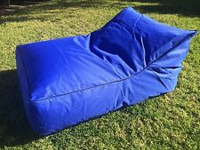 Lounger Bean Bag Chair Sofa Indoor Outdoor Water Resistant Day Bed - BLUE
