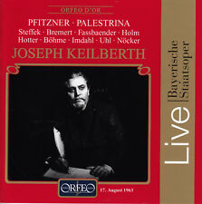 PFITZNER: Palestrina, Bavarian State Opera, Keilberth, Orfeo 3CD set