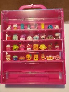 Shopkins Collectors Case With 32 shopkins included