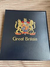 GB STAMPS DAVO SG STAMP ALBUM USED SUPERB CLEAN HINGELESS PAGES 1990-1999