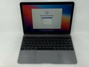 MacBook 12 Space Gray Early 2015 1.1GHz M 8GB 256GB - Very Good Condition - READ