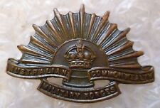 Badge- Australian Commonwealth Military Force Badge (BRONZE, Genuine*)