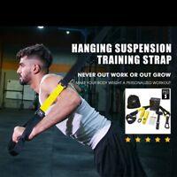 Bands Resistance Hanging Fitness Workout Suspension Belt Gym Pull Rope Sports