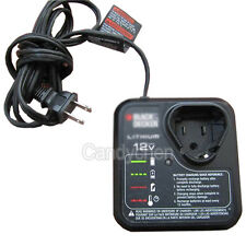 12V Lithium Battery Charger For Black & Decker LCS12 LB12 LBX12 LBXR1 90592257