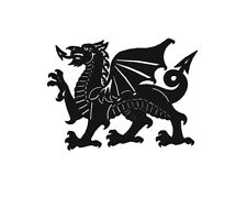 Welsh Dragon Wall Art- Metal- Any colour/size