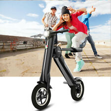 Q Bike.500w Folding Electric Bike - eBike in Black 8.8AH Scooter Electric 10AH&