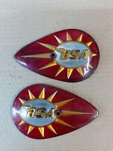 Bsa 1960s tank badges