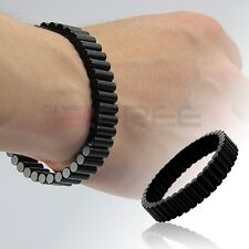 """New Black Magnetic 8.5"""" Removable Therapy Rare Earth Neodymium Magnet Bracelet"""