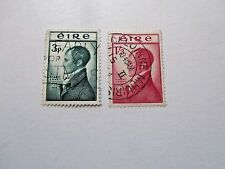 Robert Emmt 150th Anniversary of Execution, 1953, Ireland #149-50, Used/Fine