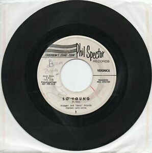 Veronica   (Ronnie Spector)    So Young   on Phil Spector   Original Promo   45