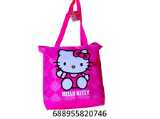 bbc73db1de07 Sanrio Hello Kitty Women Girls Tote Bag Handbag Purse-0746