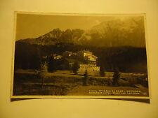 CAREZZA AL LAGO HOTEL - LATEMAR, BELLA CARTOLINA VIAGGIATA 1932 PER LECCE  -VEDI
