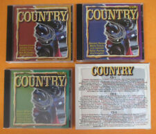 3 CD Compilation COUNTRY 2000 DOLLY PARTON JOHNNY CASH KENNY ROGERS no mc (C49)