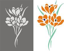 Blumen 1; Wandschablonen; Schablone; Malerschablone; Wandmalerei; Wanddekoration