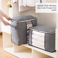 3 Aufbewahrungsbeutel,mit Reißverschluss Kleidung Kissen Bettwäsche Bettdecken