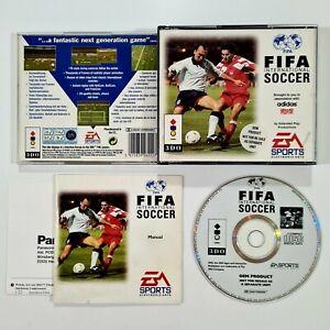 ©1994 EA Sports/Panasonic 3DO Spiel FIFA INTERNATIONAL SOCCER dt. Retro Fussball