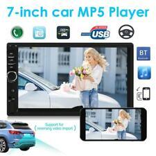 "7""  Double 2DIN Bluetooth Car Stereo Radio MP5 Player USB/FM/AUX/RCA Head Unit"