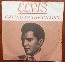 ELVIS PRESLEY CRYING IN THE CHAPEL-I Believe In The Man In The Sky US RCA EX