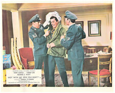 Not With My Wife You Don't original lobby card Carroll O'Connor Tony Curtis ski