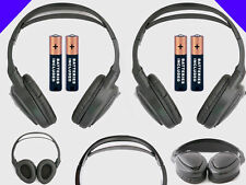 2 Wireless DVD Headsets for Porsche Vehicles : New Headphone w/ Comfort Band