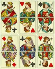 Juego de cartas antiguo