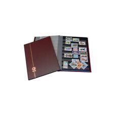 Classeur Perfecta petit modèle 16 pages noires pour timbres-poste.