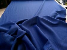 Lightweight Wool Flannel Blue & Black Check, 150cm wide. Superior Quality