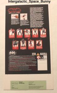 1997 Kenner Batman & Robin Heat Scan Proof Card Prototype Pre-Production