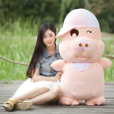 "How 40"" Giant Huge Big fat Pig Bear Stuffed Plush Animals Toy kids Birthday Gift"