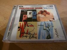 JAZZ CD - THELONIOUS MONK - 4 LP's ON 1 CD  - NEAR MINT - POST FREE.
