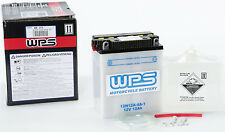 WPS Conventional 12V Standard Battery with Acid Pack 12N12A-4A-1 490-2115