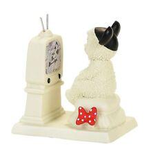"Disney - Mickey Mouse - Snowbabies ""Tuned Into Mickey"" Figurine 4057452"
