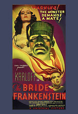 The Bride of Frankenstein - 1935 - Movie Poster Print 11x17inch