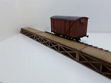 Laser Cut O Gauge Railway Track Raised Wooden Shed Walkways Pack of 3 Parts