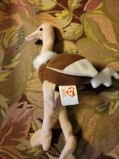 Ty Beanie Babies Stretcy The Ostrich, McDonald's, 1993, Great Condition.