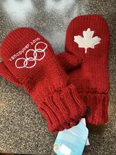 Red Vancouver Olympics Mittens - New with tags - S/M