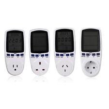 Power Meter Measuring Current Voltage Watt Analyzer Energy Meter Outlet Socket