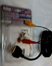 2 of 6 feet  iPod/iphone Dock Connector to 3 RCA Audio Cable for 13.99